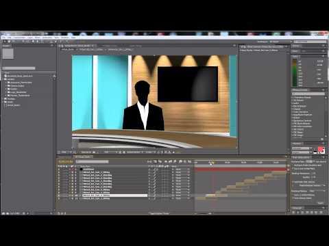 Premiumilk Tutorial 15 - Virtual Studio - (After Effects Template)