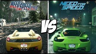 Need For Speed Rivals VS Need For Speed (2015) | Comparação de Áudio e Gráficos  - PS4™