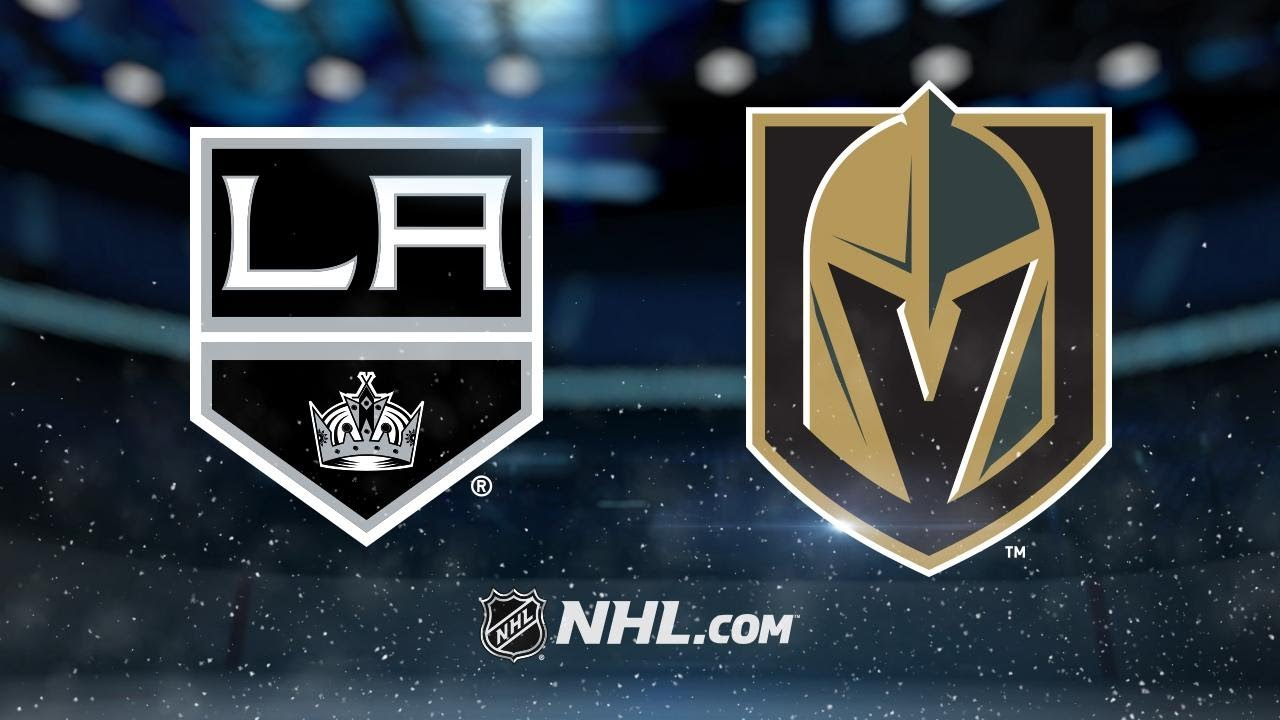 Campbell gets first NHL win as Kings top Knights, 41
