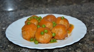 Куринные фрикадельки в томатном соусе. Испанская кухня