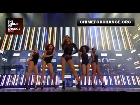 Beyoncé Ft. Jay-Z - Crazy In Love Live Chime For C
