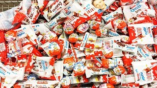 A Lot Of Candy Kinder Surprise Eggs and Sweets 2018 NEW #18