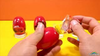 Автомобили Удивляют Яйца Unboxing Обзор Пасхальные Яйца Автомобили 2 Яйцо С Сюрпризом