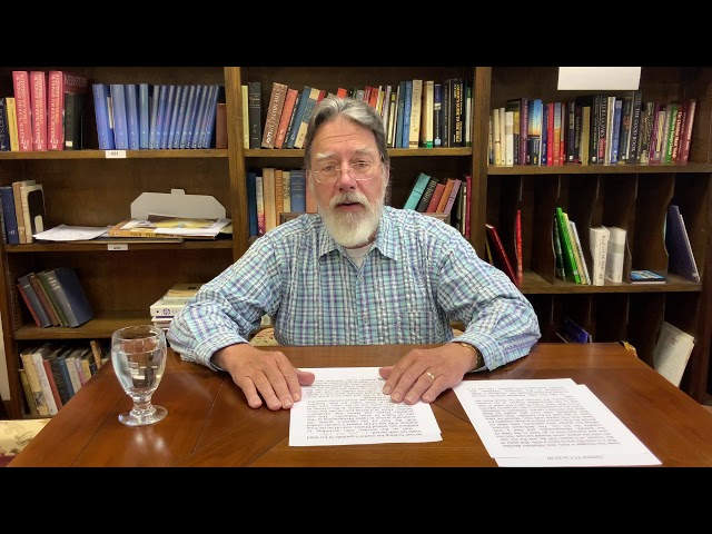 Bible Study with Bill Stahl - 08 The Wedding of Isaac and Death of Abraham
