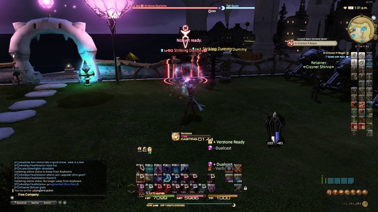 FFXIV Red Mage rotation