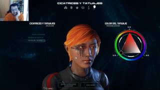 Video de MASS EFFECT ANDROMEDA - Directo [parte 1]