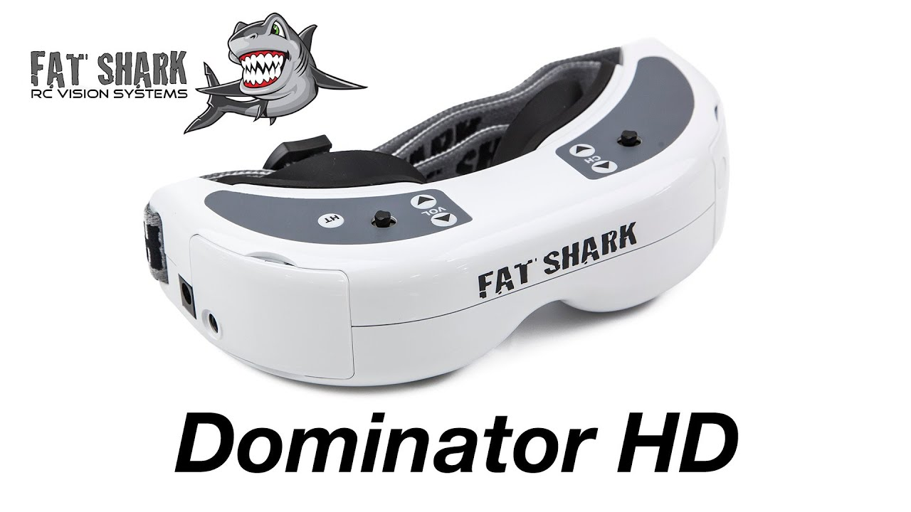 Fat Shark Dominator HD FPV Goggles Overview