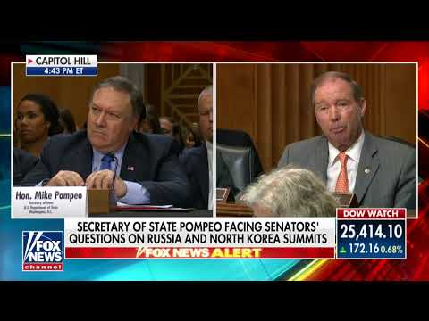 'He Seems Extremely Sympathetic' to Russia: Udall Presses Pompeo on Trump Tax Returns