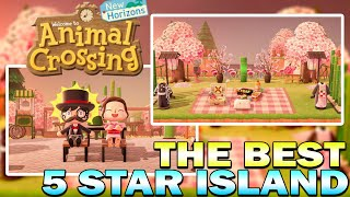 The Best 5 Star Island Tour So Far In Animal Crossing New Horizons!