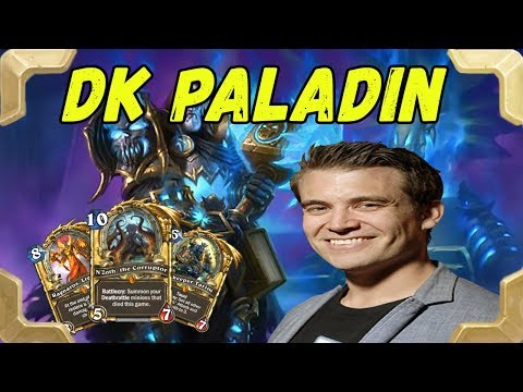 Kibler plays a new version of DK N'Zoth Paladin (Kobolds and Catacombs)