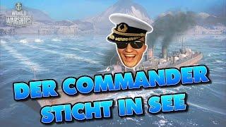 Video World of Warships | Der Commander sticht in See! download MP3, 3GP, MP4, WEBM, AVI, FLV September 2017