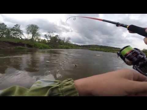видео ловля ленка на воблер
