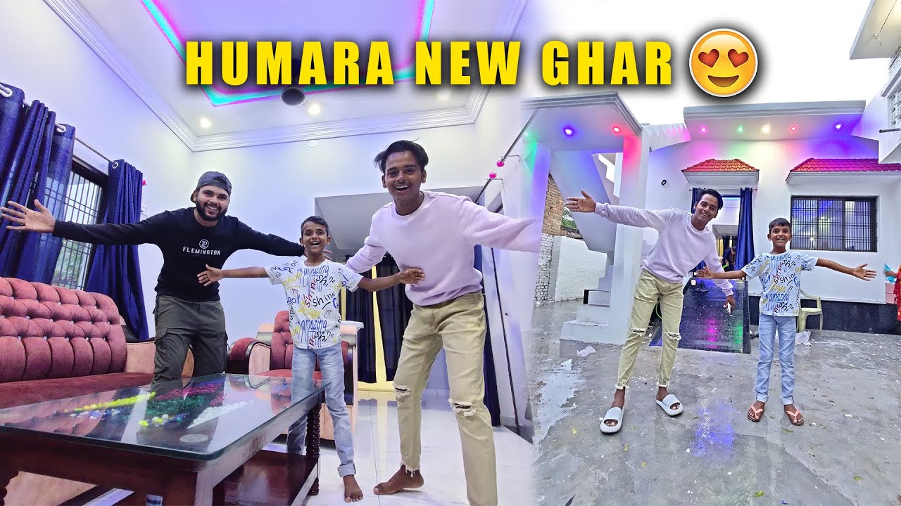 Download WELCOME TO OUR DREAM HOUSE ❤️ Humara New Ghar  😍