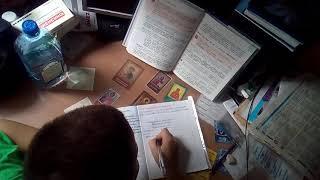 Как Никита делает уроки