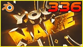 TOP 5 GOLD Blender Intro Templates #336 + Free Download thumbnail