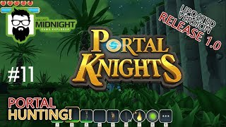 Portal Knights Release 1.0 Gameplay - TRYING TO FIND IRON - #11 - Lets Play Portal Knights Release