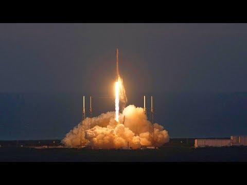 LIVE Space X Falcon 9 Launching ZUMA Secret Military Satellite And Pad Landing