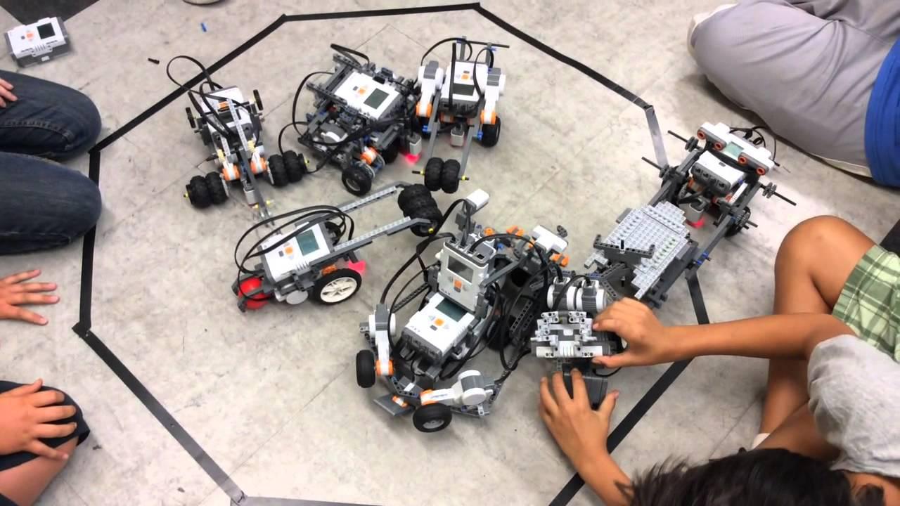 Lego Mindstorms Sumo Challenge - YouTube