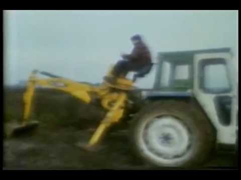 COI Tractor Digger Attachment Safety c1980s UK Public Information Film