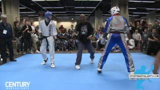 Team NK vs Avery Plowden - Team Sparring Rd 2 - AKA Warrior Cup 2017