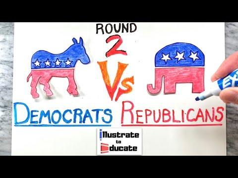 Democrats Vs Republicans 2020 - Let's Get Ready to RUMBLE!!
