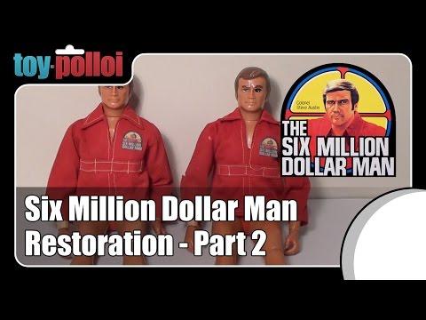 Fix It Guide - Six Million Dollar Man Restoration Part 2.