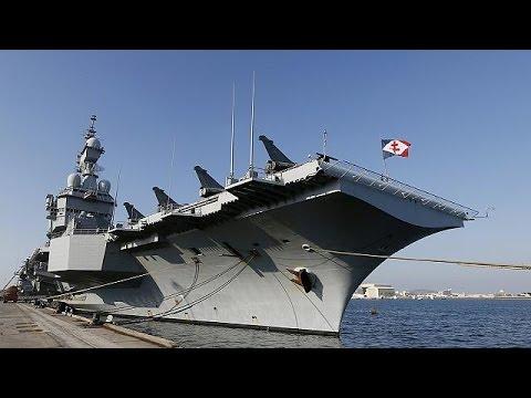 Euronews a bordo della portaerei francese charles de - Nuova portaerei ...