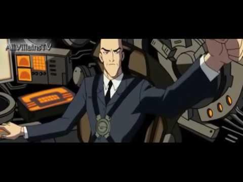 Batman & Superman vs Lex Luthor & Mercy Graves  Full Battle HD
