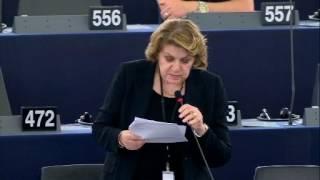 Intervento in aula di Caterina Chinnici sugli interessi finanziari dell'UE e la lotta alla frode