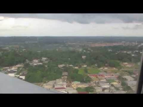 Landing to Gabon - Libreville Leon M'ba International Airport (LBV)
