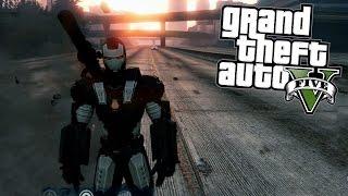 GTA 5 Mods - WAR MACHINE Iron Man Mod