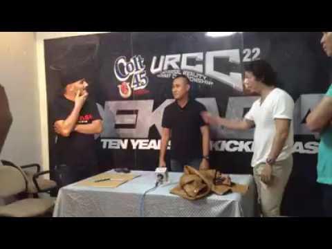 Baron vs Miko prefight interview