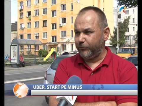 Uber, start pe minus