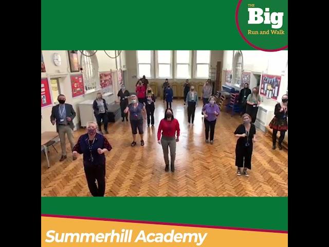 Summerhill Academy Supports CLF Big Run and Walk
