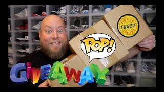 CHRISTMAS TIME! Funko Pop MASSIVE GIVEAWAY w/ IHOF + SIGNED $100 Funko Pop MYSTERY BOXES