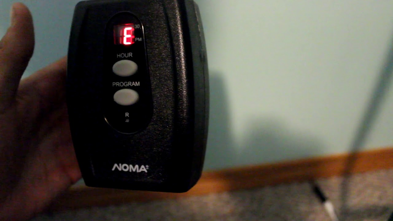 How To Set Noma Outdoor Light Timer Outdoor Lighting Ideas