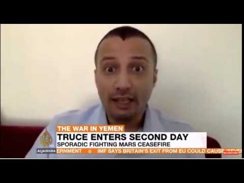 Yemen: Hakim Almasmari on suicide attack in Aden and shaky ceasefire