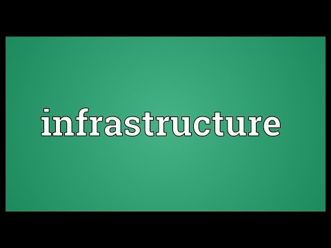 Infrastructure Meaning