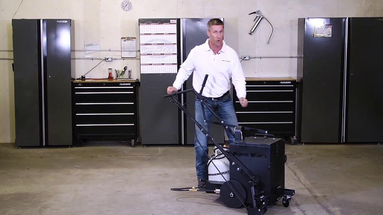 Asphalt Crack Repair Sealing Machine | Tools & Equipment | Asphalt Kingdom