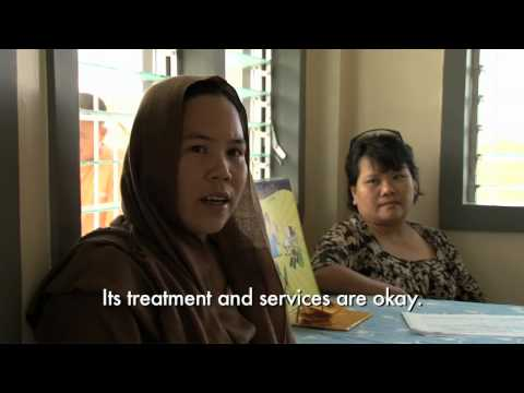 Philippines: improving health care for residents and displaced people