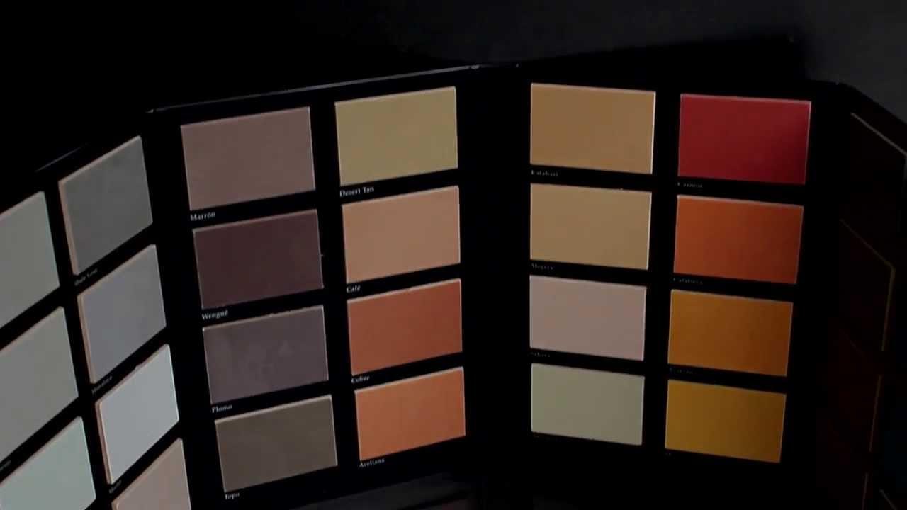 Cat logo de colores de los microcementos topciment doovi - Microcemento en mexico ...