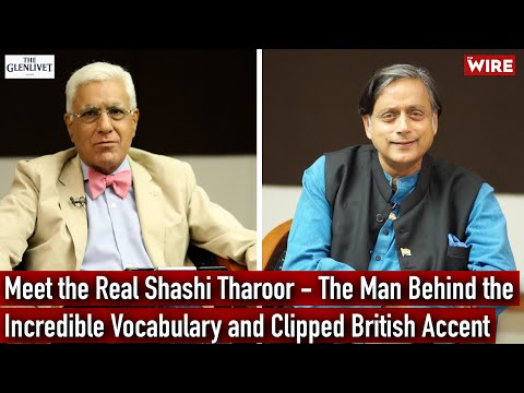 Meet the Real Shashi Tharoor – The Man Behind the Incredible