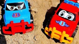 Carros para niños - Carritos para niños - Coches y camiones - Excavadoras