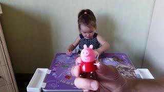 СВИНКА ПЕППА и Милана учат животных, обучающее смешное видео для детей от 2 лет, Peppa pig, девочки