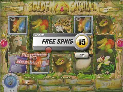 Spiele Golden Gorilla - Video Slots Online