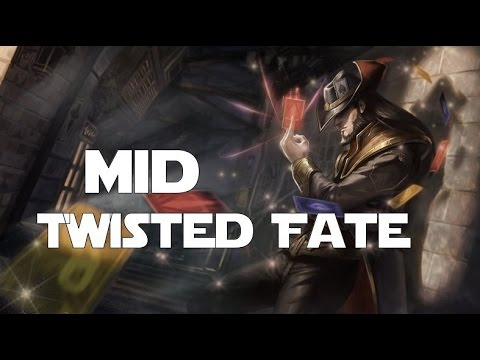 League of Legends - Twisted Fate Mid with CaptainMonk and Friends!