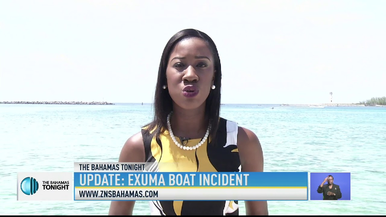 UPDATE ON EXUMA TOUR BOAT EXPLOSION