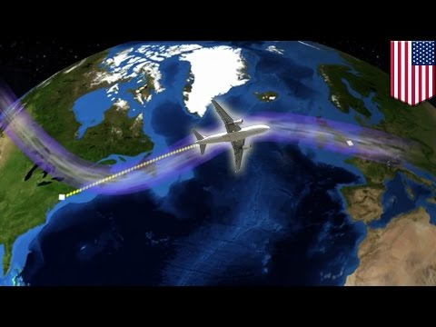 Jet stream and climate change: global warming may make transatlantic flights even longer - TomoNews