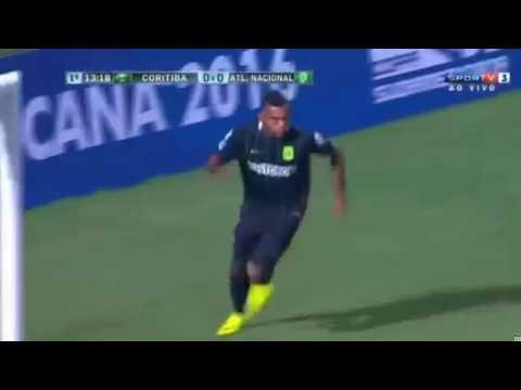 Download Gol de Miguel Borja   Coritiba 0 x 1 Atlético Nacional Copa Sulamericana 2016