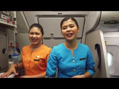 গোপন ক্যামেরায় দেখুনঃ সুন্দরী বিমানবালাদের এবং বিমানবন্দরের গোপন-কর্ম, Flight from Yangon to Bangkok